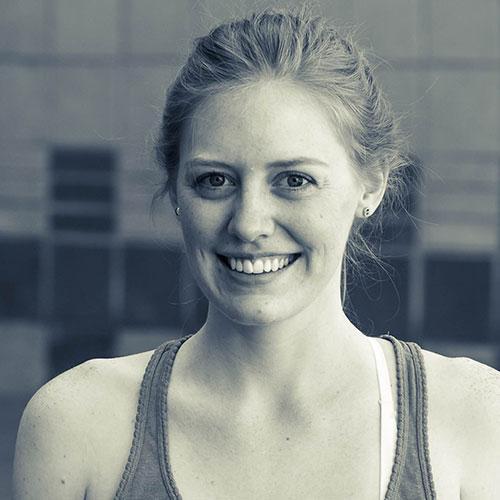 Erin Leather meet the team yoga santosha teacher