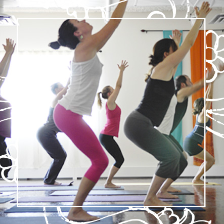 Yoga Santosha Class Lunch Flow