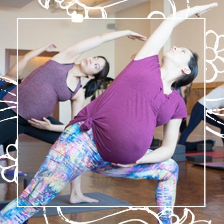 Yoga Santosha Class Prenatal Yoga