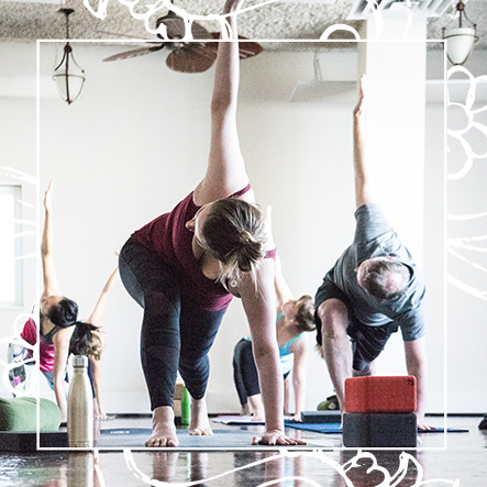 Yoga Santosha Class Yin Yang