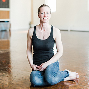 Alison O'Driscoll meet the team yoga santosha teacher