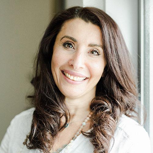 Dalia Taher yoga santosha manager