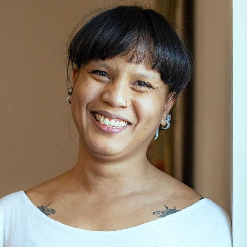 Francine Caguiat yoga santosha supervisor